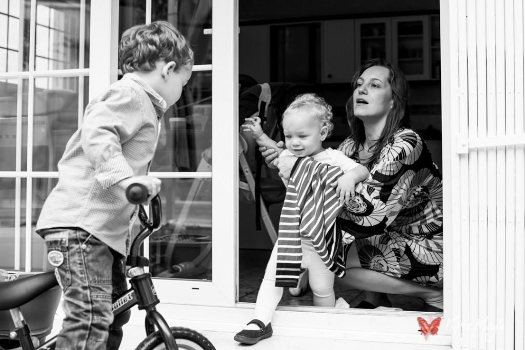 reportaje familia en exterior