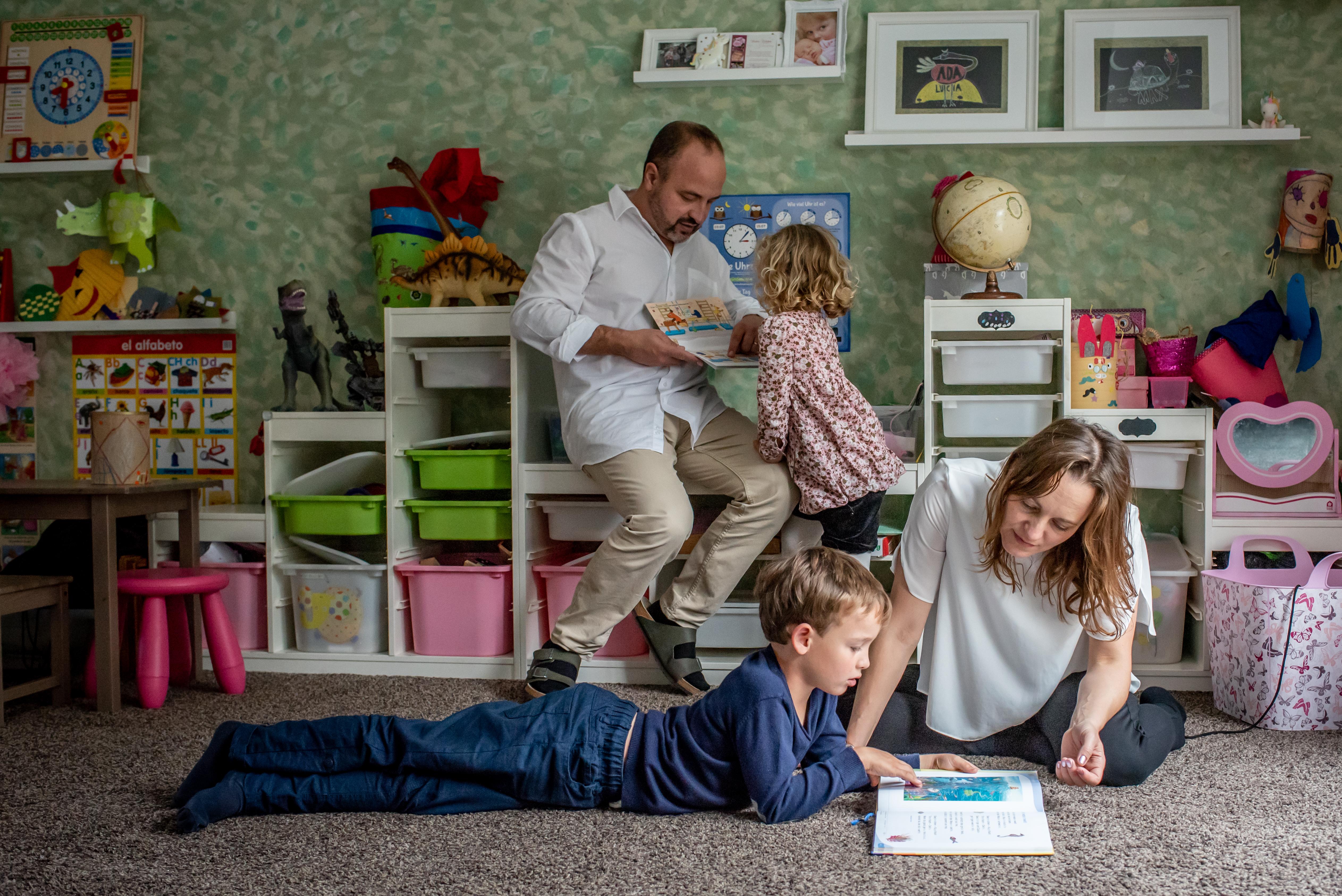 REPORTAJE DOCUMENTAL: Un día en familia